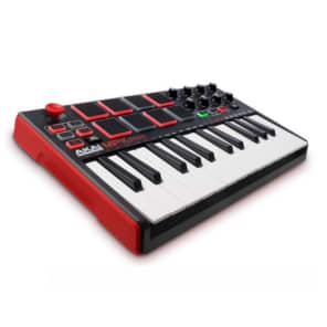 Akai MPK Mini mkII  25-Key USB MIDI/Pad Controller  Keyboard bundled with production software