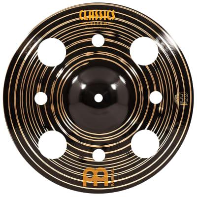 "Meinl 12"" Classics Custom Dark Trash Stack Cymbals (Pair) 2019"