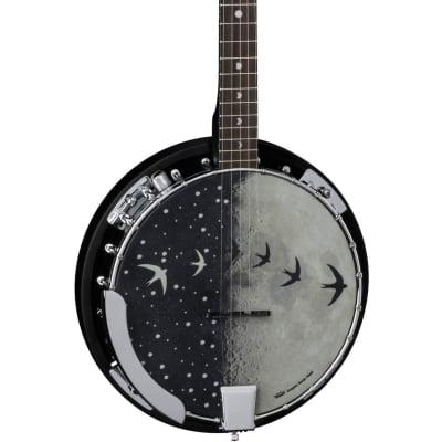 Luna BGB MOON 5E Moonbird 5-String Acoustic-Electric Banjo
