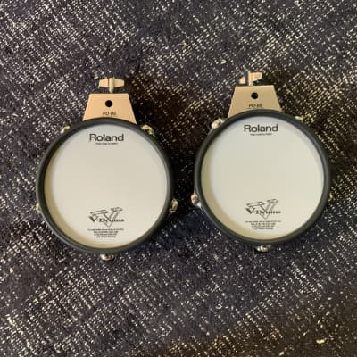TWO Roland PD-85-BK Dual Trigger V-Pads (pair)