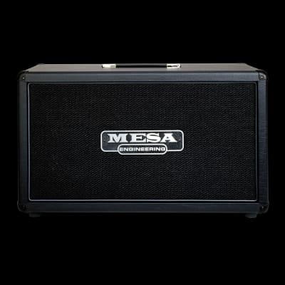 MESA/Boogie 2x12 Horizontal Rectifier Cabinet - Black Taurus / Black Jute