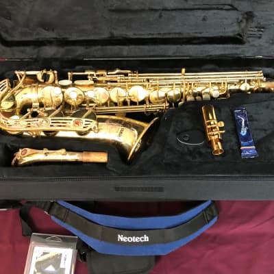 Vintage Yamaha YAS-61 Professional Alto Saxophone with New Case! Nice 🤩🔥
