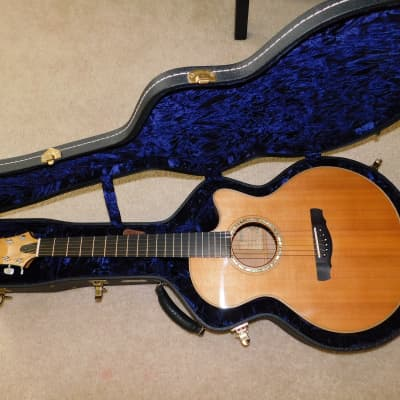 Ryan Mission Grand Concert Acoustic Guitar Maple and Sitka 1996 for sale