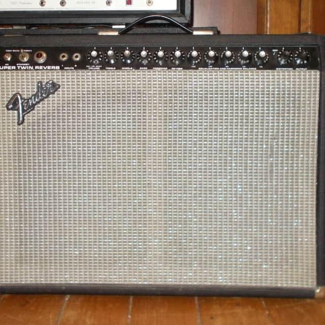 Fender Super Twin Reverb Tube Amp 1976 image