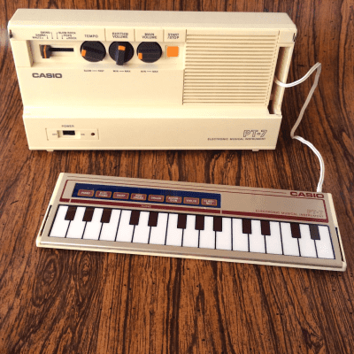 Casio PT-7 Mini Synthesizer 1982 - 1984