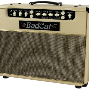 "Bad Cat Black Cat 15R 15-Watt 1x12"" Guitar Combo with Reverb"