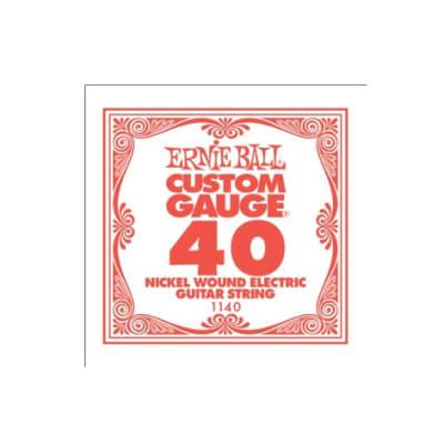 Ernie Ball Nickel Wound Single String 040
