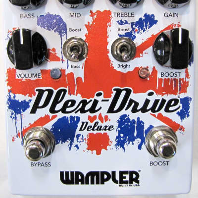 Used Wampler Plexi Drive Deluxe Overdrive Guitar Effects Pedal! image