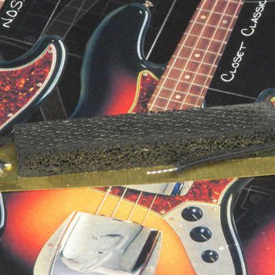 Fender USA '62 Jazz Bass Bridge Pickup Cavity Shield With Ground 0019662000 image