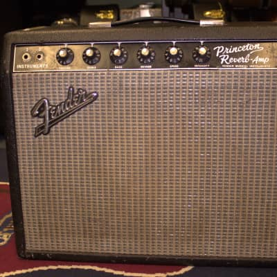 Fender Princeton Reverb Amp 1965 Black for sale