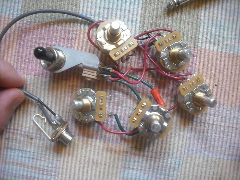 [DIAGRAM_3NM]  Rickenbacker 330/360 Wiring Harness   Steve's Gear Bazaar   Reverb   Rickenbacker Wiring      Reverb
