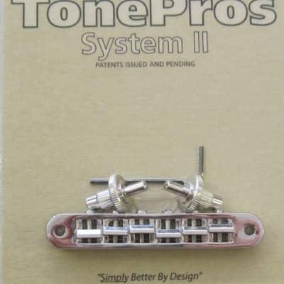 TonePros TP6-N Standard Nashville Style Tuneomatic Nickel