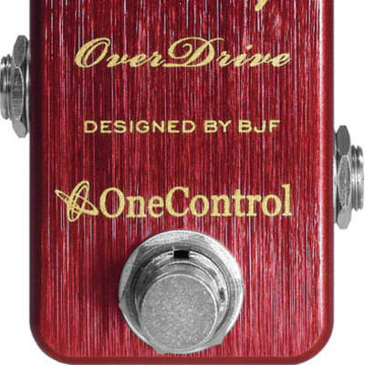 One Control Cranberry Overdrive Pedal for sale