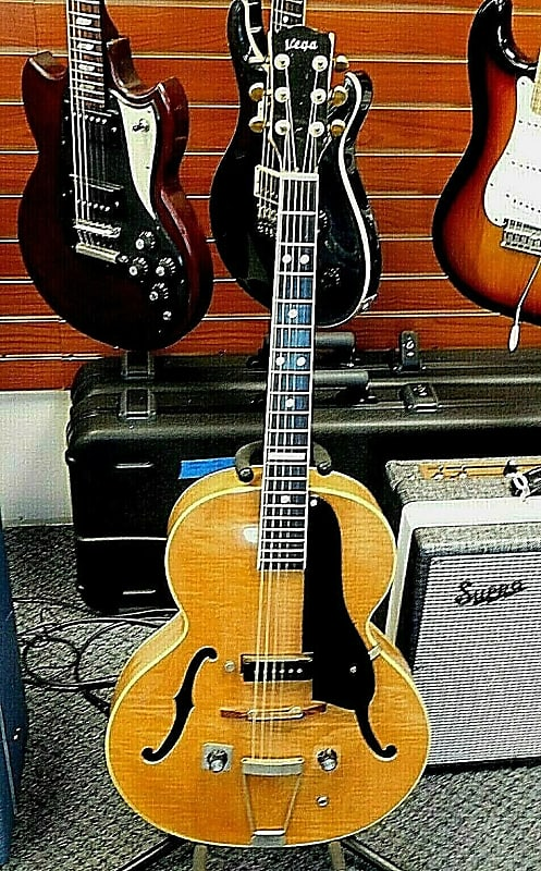 2508728b3ef Vega Electrovox Archtop Electric Guitar Vintage 1940's! | Reverb