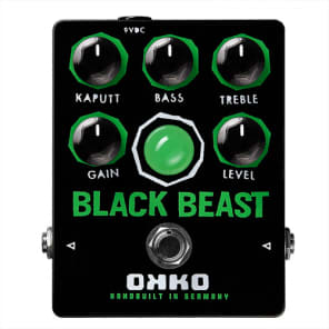 OKKO Black Beast Overdrive/Distortion for sale