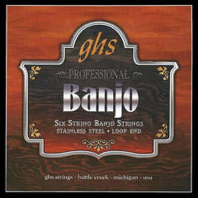 GHS Banjo 6-string Light PF120
