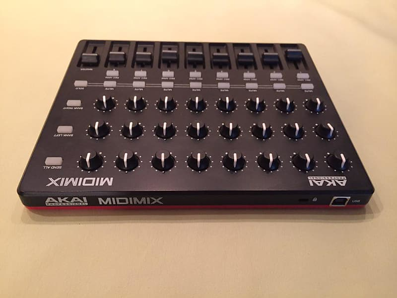 akai midimix portable mixer daw controller reverb. Black Bedroom Furniture Sets. Home Design Ideas