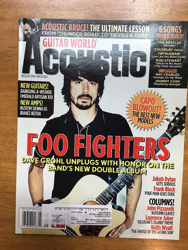 Guitar World Acoustic Magazine Aug/Sept 2005