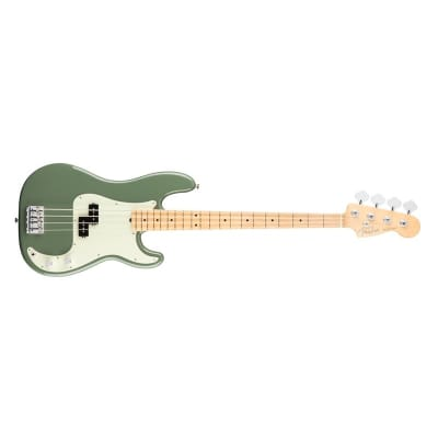Fender American Professional Precision Bass (Antique Olive, Maple) for sale