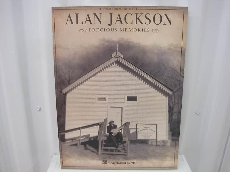 Alan Jackson Precious Memories Piano Vocal Guitar Sheet Music Reverb