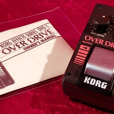 Vintage Rare 1984 Korg OVD1 Tube Screamer Overdrive Distortion w/ JRC 4558DV TOP for sale