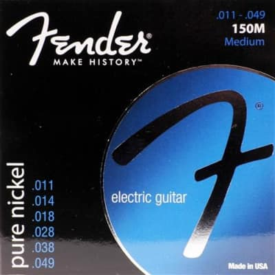 Fender Original 150 Pure Nickel Medium Electric Guitar Strings
