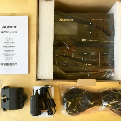 NEW Alesis DM10 MKII Pro Drum Module with Cables/Power Adapter - Machine Brain