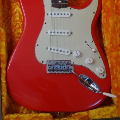 Fender Stratocaster Mark Knopfler Hot Rod Red 1950's Inspired Sultan of Swing! for sale