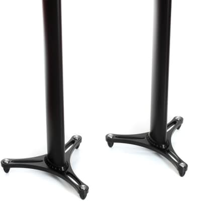"""Ultimate Support MS-90/36B 2nd Generation 36"""" Studio Monitor Stands (Pair)"""