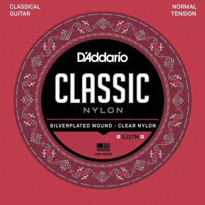 D'Addario EJ27N Student Nylon Classical Guitar Strings