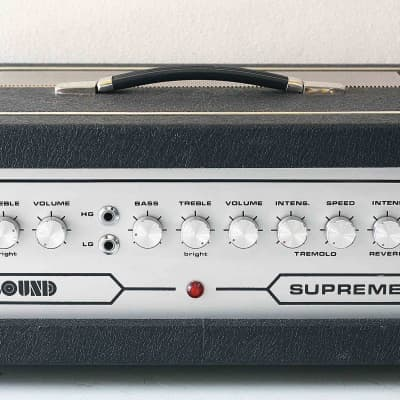 REALLY EXCELLENT & POWER HEAD AMPLIFIER SOUND SUPREME 120 1970 GUITAR 100% FULL WORK!