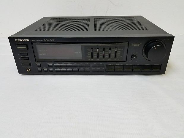 Vintage Pioneer SX-2300 Stereo Receiver For Repair | Reverb