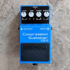 Boss CS-3 Compression Sustainer  MINT