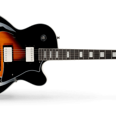 Cort Yorktown Semi Hollow Electric Guitar - Tobacco Burst for sale