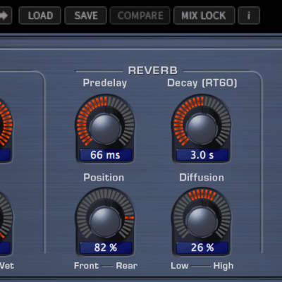 Eventide 2016 Stereo Room Natural & distinctive room reverb