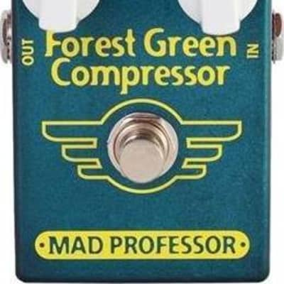 Mad Professor Forest Green Compressor Guitar Effects Pedal for sale