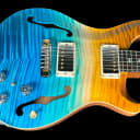 2019 Paul Reed Smith PRS Hollowbody I Wood Library Artist Package w Piezo ~ Beach Cross Fade