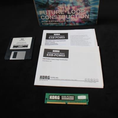 Korg EXB PCM-03 future loop construction for Triton