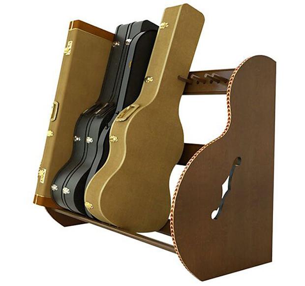 studio deluxe guitar case rack walnut finish reverb. Black Bedroom Furniture Sets. Home Design Ideas
