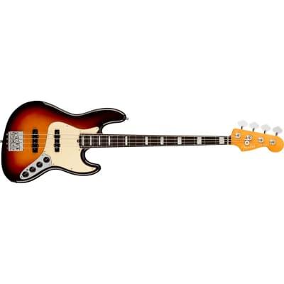 Fender American Ultra Jazz Bass, Rosewood Fingerboard, Ultraburst for sale