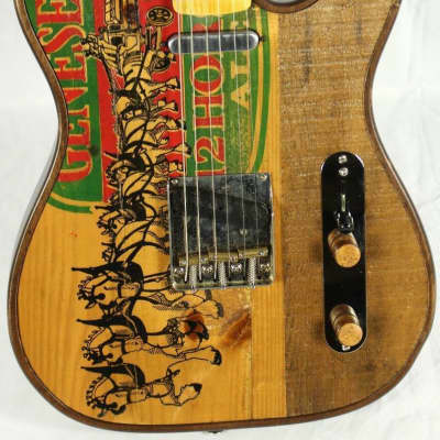 Walla Walla T-Top Vintage Genesee 12 Horses Telecaster Tele Guitar w/OHSC 2015 for sale