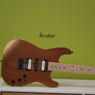 Price Reduction! StoryWood Music Super Strat 2017 ALL Reclaimed Wood  - Founders Series #5 of 25 for sale