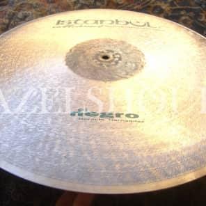 "Istanbul Mehmet 22"" El Negro Signature Flat Ride Cymbal"