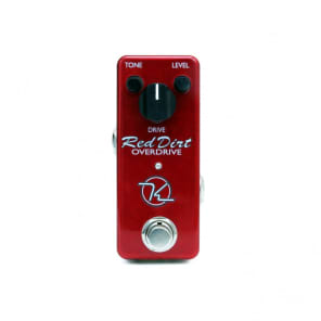 Keeley Red Dirt Mini Overdrive Distortion Guitar Effect Pedal - NEW