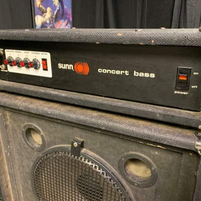 Sunn Concert Bass Head for sale