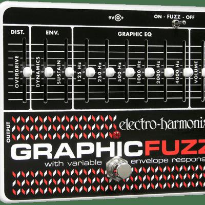 New Electro-Harmonix EHX Graphic Fuzz EQ Distortion Sustainer Guitar Pedal!