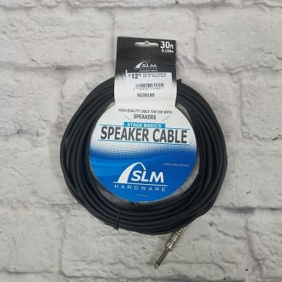 "SLM Hardware SG3018S 30ft 1/4"" Speaker Cable"