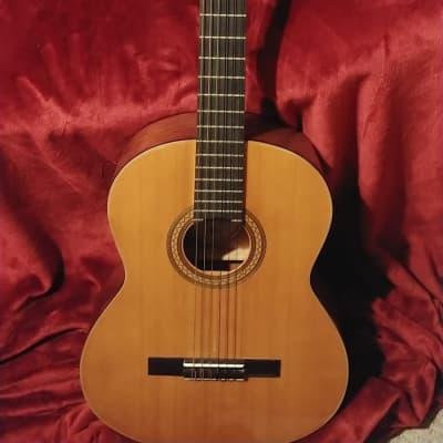 Kent 433 Vintage Natural Full Size Classical Acoustic Guitar MiJ for sale