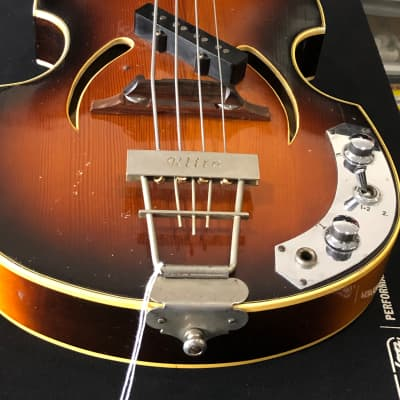 Klira  Twen star bass 60's Sunburst for sale