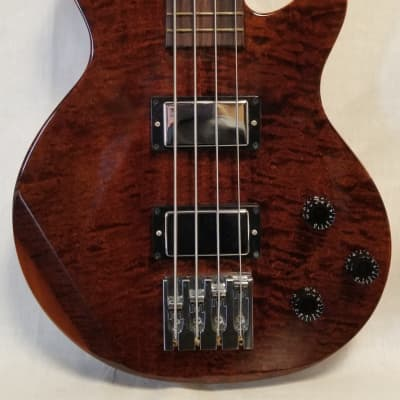 Gibson 2007 Les Paul Double Cut Electric Bass AA- Maple Flame-top, Root Beer  w OHSC for sale